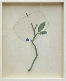 Flavio Paolucci, Private, 2017, wood, paper, color, pencil, 63x50 cm Courtesy Galerie Carzaniga, Basel