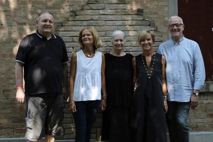 Fabio, Annalisa, Afra, Laura e Tiberio Cattelani Foto Barbara Giorgis