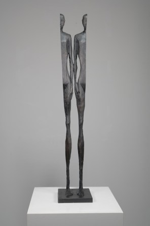 NIELSEN JOHANNES, Destination unknown #2, 2018, bronzo, 75 x 14 x 14 cm