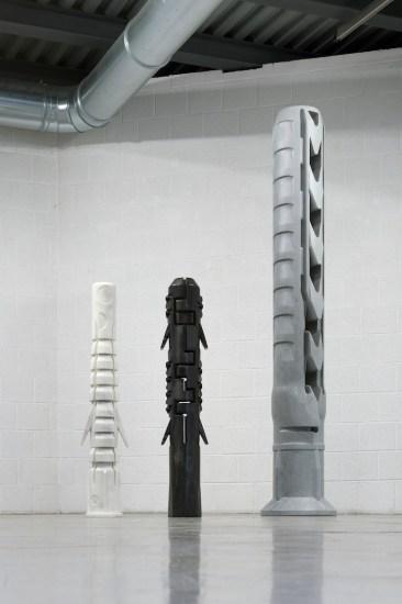 Fabio Viale. Fifteen, installation view (Anchor), Gagliardi e Domke Gallery, Torino