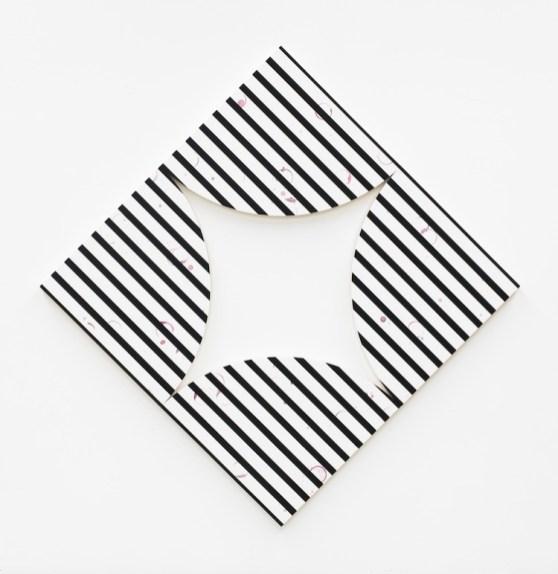 Claudia Comte, Quarter circle painting stripes, 2018, Artisti per Frescobaldi 2018