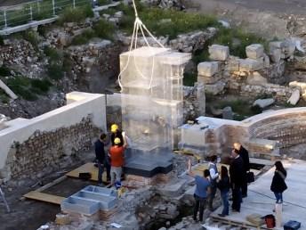 "Edoardo Tresoldi, Basilica di Siponto (work in progress), Parco Archeologico ""Le Basiliche"", Siponto (FG)"