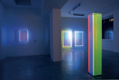 Regine Schumann. Colormirror, veduta della mostra, Dep Art Gallery, Milano Courtesy l'artista e Dep Art Gallery Foto Bruno Bani