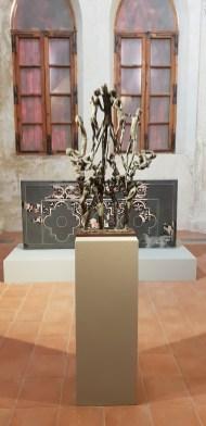 Noi continuiamo l'evoluzione dell'arte. Arte Informale dalle collezioni della GAM - Torino, veduta della mostra, Complesso Monumentale di San Francesco - Ex Chiesa di San Francesco Via Santa Maria 10, Cuneo