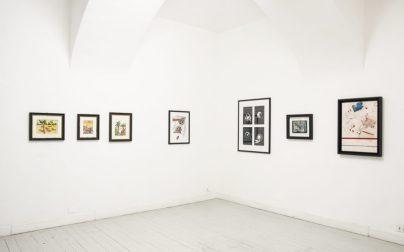 Senza titolo 3, veduta d'installazione, Opere Scelte, Torino