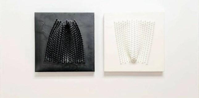 Matteo Gironi. Emersioni, veduta della mostra, E3 Arte Contemporanea, Brescia
