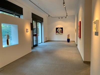Lollipop, veduta della mostra, PUNTO SULL'ARTE, Varese