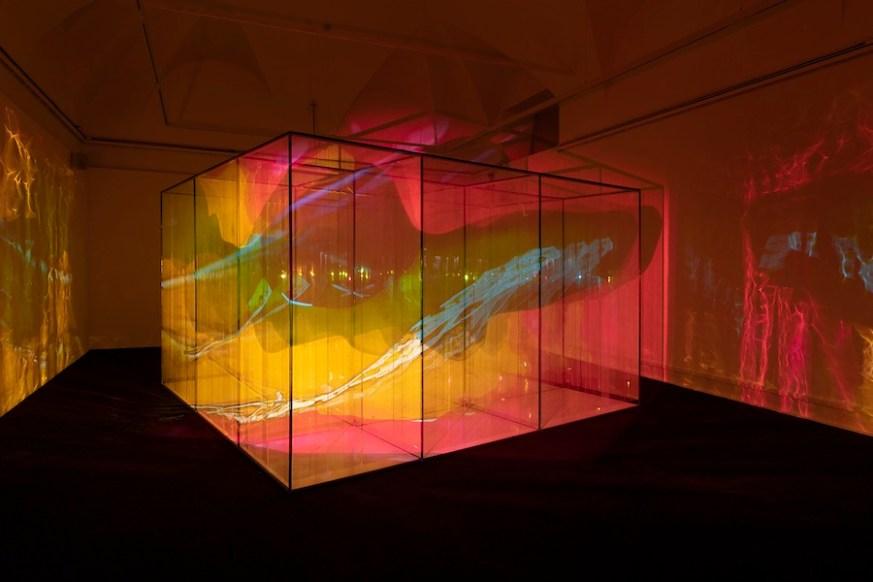 Marinella Pirelli, Film Ambiente, allestimento al Museo del Novecento, Milano, 2019 Foto di Lorenzo Palmieri