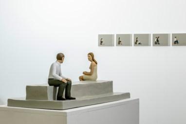 Nando Crippa. Approcci, veduta della mostra, Galleria Melesi, Lecco Courtesy Galleria Melesi, Lecco Foto Stefano Pensotti