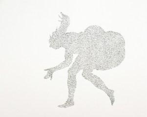 Armida Gandini, Geografie umane, 2019, grafite su carta