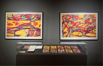 Jean Dubuffet e Venezia, veduta della mostra, Palazzo Franchetti, Venezia Courtesy ACP Palazzo Franchetti, Venezia Foto Sharon Ritossa