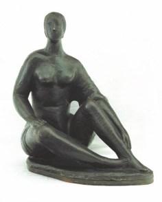 Arturo Martini, Bagnante al sole, 1932, bronzo, 43x40x25,5 cm - Courtesy Barbara Paci