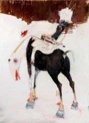 Kinki Texas, Gustav der II Adolf von Schweden, 2013, tecnica mista su tela, cm 200x145