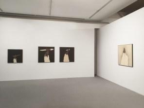 Emilio Scanavino. Come fuoco nella cenere. Grandi formati. Opere 1960-1980, veduta della mostra, Museo MARCA, Catanzaro Courtesy Archivio Emilio Scanavino, Milano, 2019