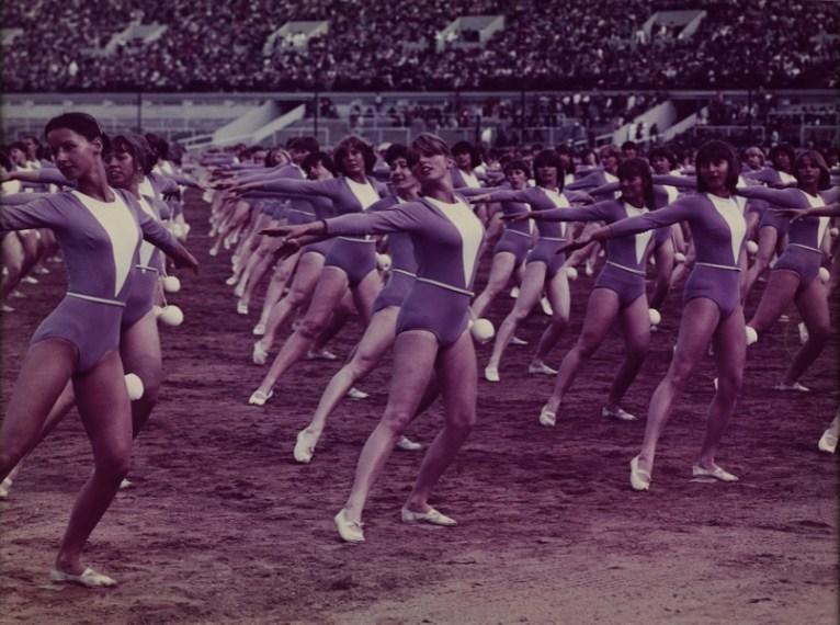 Spartachiadi, 1985, fotografia