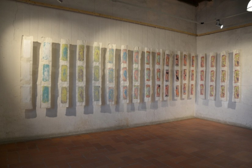 Sottopelle. Storie di memorie e persistenze. Atto I– Andrea Cereda e Diego Soldà, veduta della mostra, Castello Visconteo, Pandino (CR) Foto Giovanni Rossi