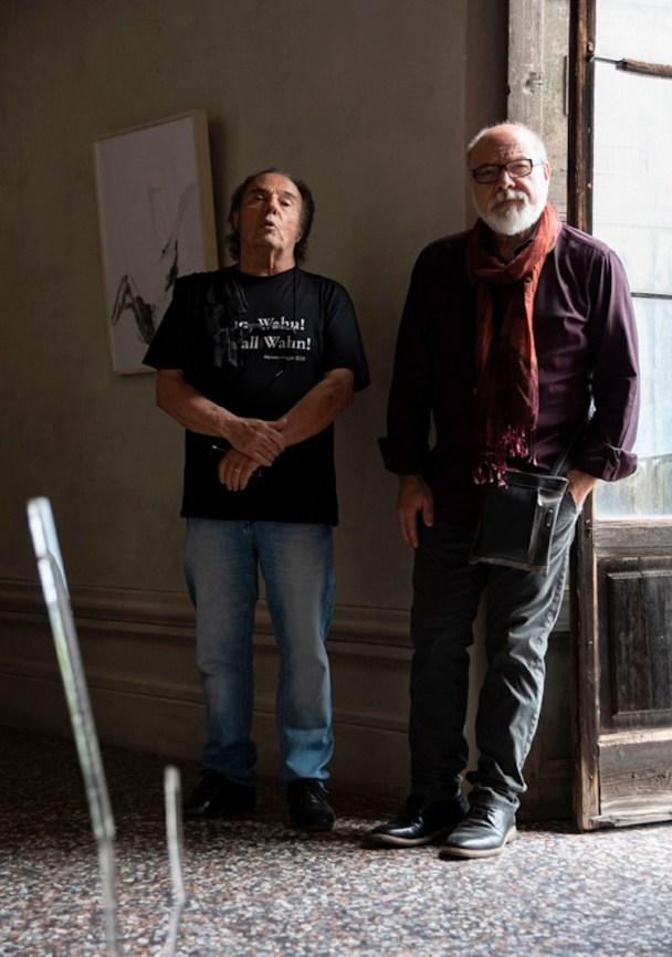 Mario Raciti e Valdi Spagnulo Foto Bellati