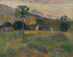 Paul Gauguin, Haere Mai, 1891, olio su iuta, 72.4x91.4 cm, Solomon R. Guggenheim Museum, New York Thannhauser Collection, Gift, Justin K. Thannhauser 78.2514.16 © Solomon R. Guggenheim Foundation, New York (SRGF)