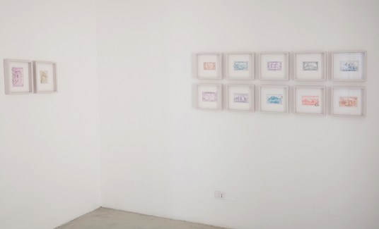 Massimiliano Gatti. Aleph, installation view, Studio la Città, Verona Courtesy Studio la Città, Verona