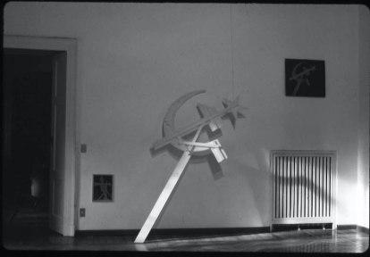 Vista della mostra: sala principale. 9 aprile 1973, Galleria Milano Foto di Carla Pellegrini Courtesy Galleria Milano, Milano