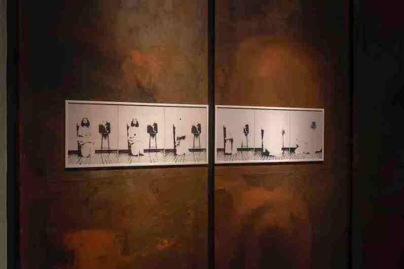 L'avventura dell'arte nuova   anni 60-80. Cioni Carpi, veduta della mostra, Fondazione Centro Studi sull'Arte Licia e Carlo Ludovico Ragghianti, Complesso monumentale di San Micheletto, Lucca