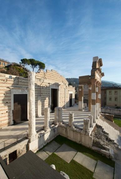 Tempio Capitolino, Brixia-Parco Archeologico di Brescia Romana © Fotostudio Rapuzzi