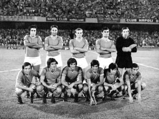 Squadra della Nazionale italiana, Partita Italia-Bulgaria allo stadio Luigi Ferraris di Genova, 29 dicembre 1974