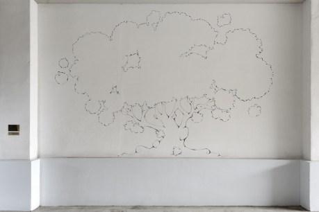 Today I would like to be a Tree, veduta della mostra (Montioli), Studio la Città, Verona Credits Michele Alberto Sereni – Courtesy Studio la Città