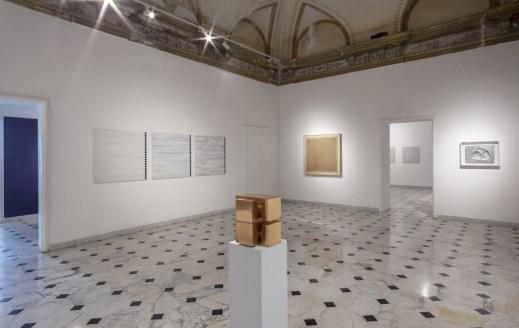 Tomas Rajlich e l'arte astratta in Italia, veduta dell'allestimento (Sala 9), Museo d'Arte Contemporanea di Villa Croce, Genova Foto Ilaria Caprifoglio