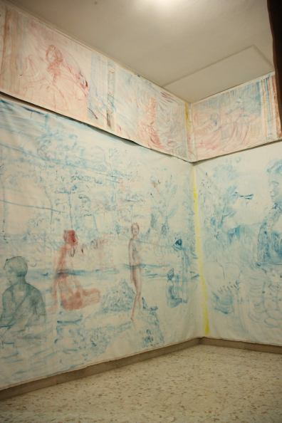 EDEN. Elisa Filomena, installation view, Casa Vuota, Roma