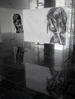 Francesco Di Maio, What an eye cannot see, 2020, stampa vinilica a microgetti su pvc, processo fuji, 230x200 cm ciascuna - Courtesy l'artista e Cultura In-attesa