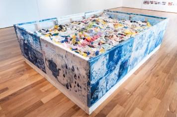 Loredana Galante. La Rivoluzione Gentile, veduta della mostra, Fondazione Dino Zoli, Forlì Foto Luca Bacciocchi