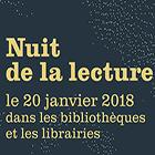Affiche Nuit lecture 2018 40 x 60 cm - repiquable