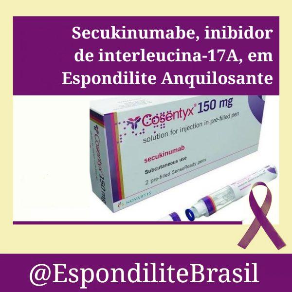 Novos Estudos – Secukinumabe, inibidor de interleucina-17A, em Espondilite