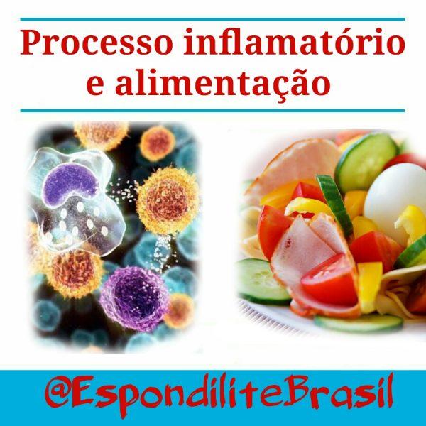 Processo inflamatório e alimentação
