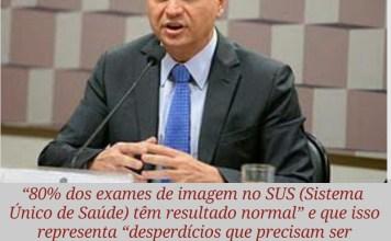 """alt=""""Exames com resultados normais são desperdício diz Ministro da Saúde"""""""