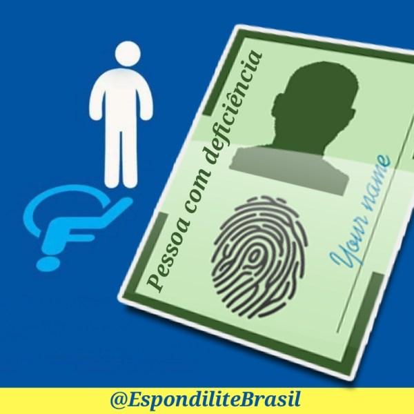 Deficientes poderão registrar sua condição na identidade