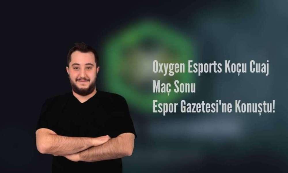 Maç Sonrası Oxygen Esports Koçu ile Röportaj