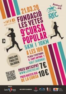 Cursa Popular Les Vetes 2020 @ Salt (Girona)