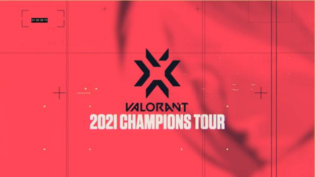 VALORANT Champions Tour 2021ロゴ