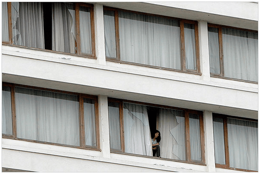 Trapped in the Terror Attack, Hotel Guests Asking for Help
