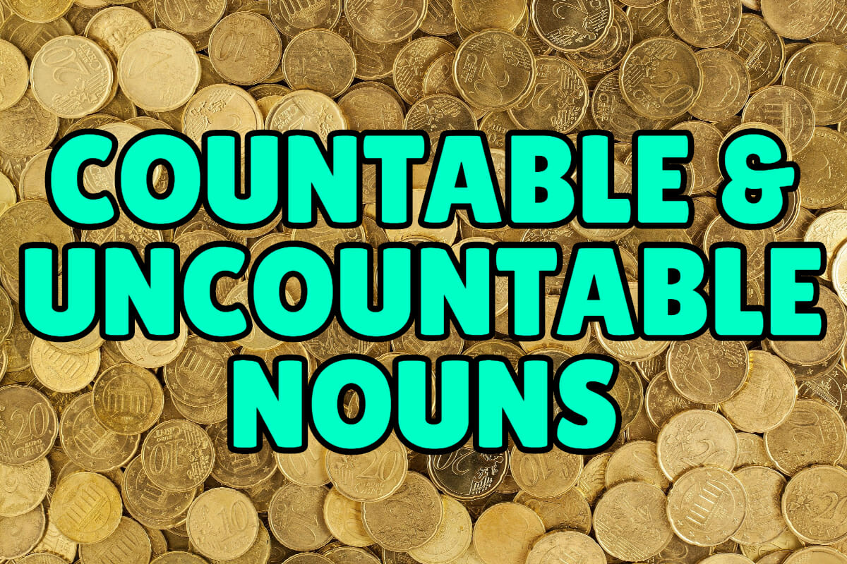 Countable And Uncountable Nouns Espresso English