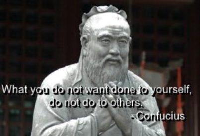 Confucius, filosofie a religiei, spiritualitate