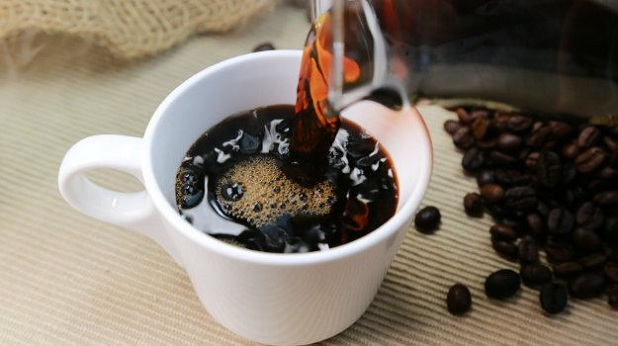 how to make black coffee