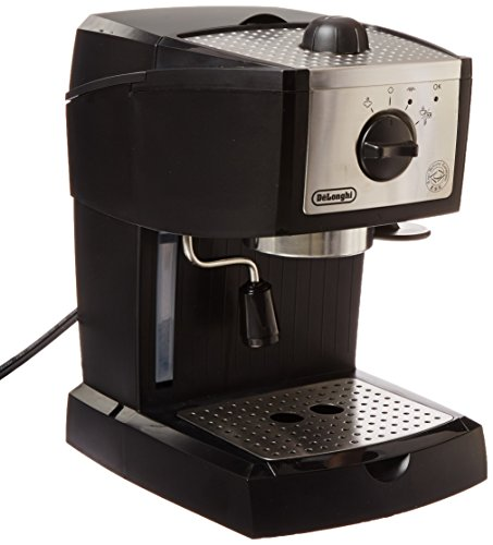 Best espresso machine - Delonghi ec155 15 bar pump espresso and cappuccino maker