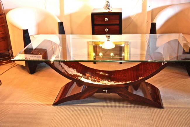table basse art deco en palissandre de rio art deco dining room table rosewood