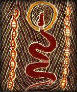 gardien de la terre et serpent cosmique