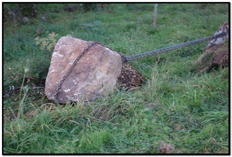 Cercle de pierre création