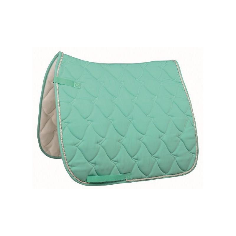tapis cheval aqua pastel selle mixte ou dressage