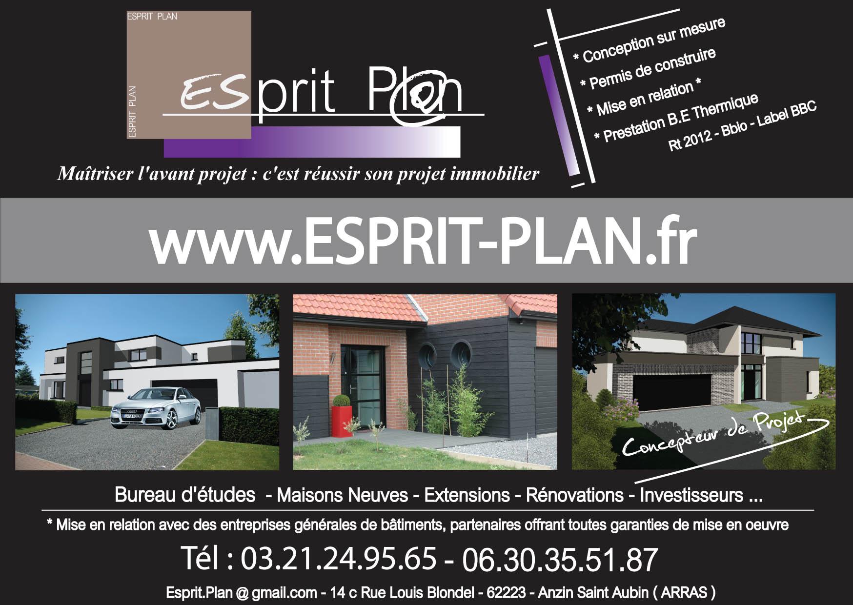 ESPRIT PLAN PERMIS DE CONSTRUIRE EXTENSIONS RENOVATIONS